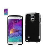 REIKO SAMSUNG GALAXY NOTE 4 CANDY SHIELD CASE WITH CARD HOLDER IN BLACK ... - $10.55