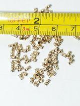 10pcs. - 14k Gold Filled 3mm Twisted Crimp 1.7 Gram For 014 Wire image 3