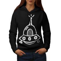 Spaceship Sweatshirt Hoody Aliens Women Hoodie - $21.99+