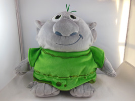 "Disney Store Troll Reversible 11"" Plush Soft snuggly Stuffed Doll grey w... - $8.61"