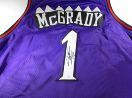 Tracy Mcgrady / Nba Hall Of Fame / Hand Signed Toronto Raptors Custom Jersey Coa - $138.55