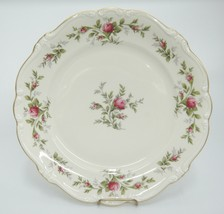 "Rosenthal Pompadour Antoinette Moss Rose Dinner Plate 10"" Flaw Discolora... - $12.86"