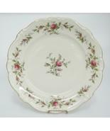 "Rosenthal Pompadour Antoinette Moss Rose Dinner Plate 10"" Flaw Discolora... - $12.86"