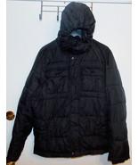 Tommy Hilfiger Men's Nylon Hooded Puffer Jacket Size Large VGUC - $46.74