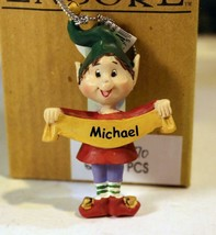 Christmas Ornaments WHOLESALE- Russ BERRIE- #13770- 'MICHAEL'- (6) - New -W74 - $5.83