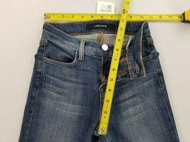 Neuf J Brand Femme Jeans Skinny Maria 23110O212 Divulgation Bleu Sz 22 Pdsf image 5