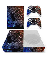 Tech wallpaper Pattern xbox one S console and 2 controllers - $15.00