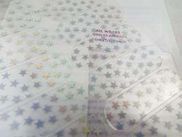 Jamberry Independencia 0317 12B8 Holográfico Estrellas en Transparente Hoja image 2
