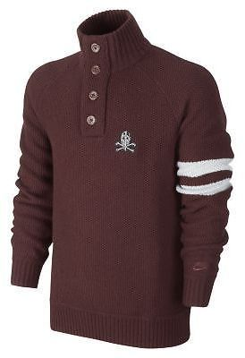 3663e14aa2 New Nike BB51 Knit Henley Sweater Men's $150 and 30 similar items