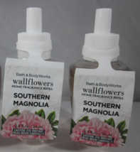 2 Bath & Body Works Wallflower Diffuser Refill Bulb  Southern Magnolia - $29.99