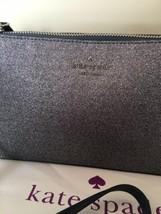 KATE SPADE %Authentic Joeley Smooth Glitter Dust Navy Crossbody Bag (WKRU6288) image 2
