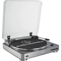 Audio Technica Automatic Stereo Belt Drive Turntable Record Player LP60 USB image 1