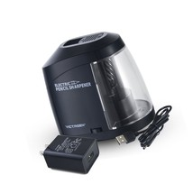 Victagen Electric Pencil Sharpener, AC Adapter or Battery Operated Helic... - $31.50