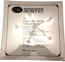 CREATIVE MEMORIES 12X12 Refill RCM-12R Ruled Scrapbook Pages 10 Pages (5... - $13.95