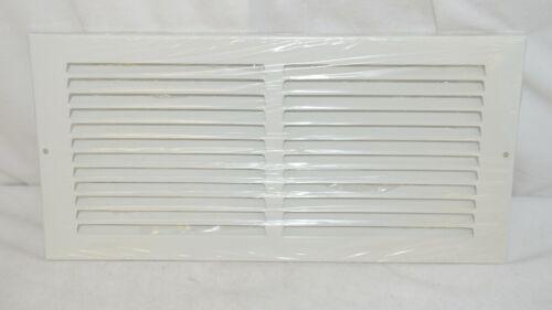 Lima 001029 White Stamped Face Return Grille 60GH 14 By 6 Inches