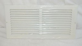 Lima 001029 White Stamped Face Return Grille 60GH 14 By 6 Inches image 1