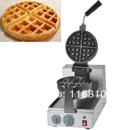 Primary image for 180 Rotated 110v Electric 4-Slice Round Belgium Belgian Waffle Maker Machine Bak