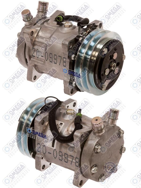 International Navistar Heavy Duty Truck AC Air Conditioning Compressor Not OEM