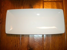 "Vista Alegre Carre Rectangular Plate 12.5"" X 5.5"" Serving Tray Dish Plat... - $19.79"