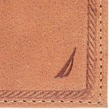 Nautica Men's Genuine Leather Trifold Credit Card ID Holder Wallet 31NU11X026 image 4