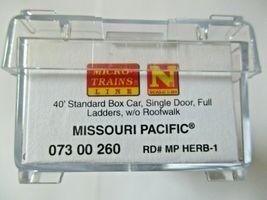 Micro-Trains # 07300260 Missouri Pacific 40' Standard Box Car Single Door (N) image 5