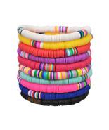 Yumfeel New Fashion bracelet Women 10pcs/lot Mixed Colotrs Polymer Clay bracelet - $37.36