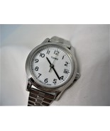 L27, TIMEX, Ladies Wristwatch, Silver Tone Flex Band, Date - $4.99