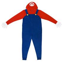 Nintendo Mario Men's Pajama Union Suit Blue - $40.98