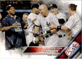 2016 Topps #155 New York Yankees Team Card - $0.99