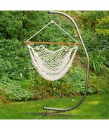 "The Hamptons Collection Natural Cotton Rope Hanging Hammock Chair 48"" x 47"" - $389.80"