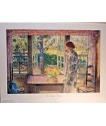 "Childe Hassam The Goldfish Window Art Print 30.5"" x 23.25"" - $17.81"