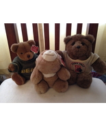 3 Collectible GUND Bears from the 1980s - $30.00