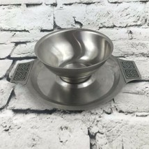 Rogers Insilo Fashion Stainless Vtg Serving Bowl - $11.88