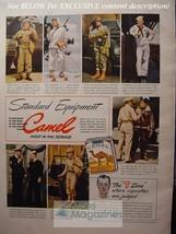 1943 Rare Esquire Advertisement Ad Wwii Camle Cigarettes Wwii Era - $14.00