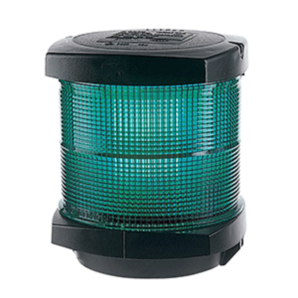 Primary image for Hella Marine All Round Green Navigation Lamp- Incandescent - 2nm - Black Housing