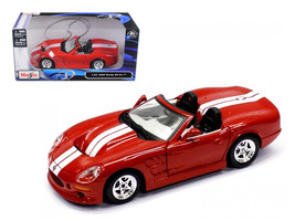 1999 Shelby Series 1 Red 1/24 Diecast Model Car by Maisto - $50.99