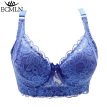 0e3ee6e436 Full cup ECMLN Plus size wireless lace bra thin underwear small adjustab...  - · Add to cart · View similar items