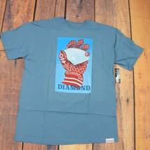 Diamond Supply Co. T-shirt / XL Size/ Blue Color / Short Sleeve/NWT diam... - $18.80
