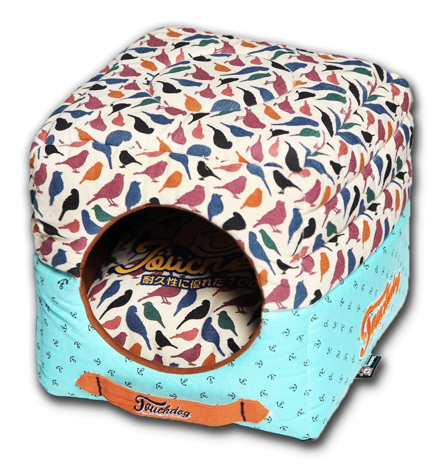 Primary image for Chirpin-Avery Convertible Squared 2-in-1 Collapsible Pet Dog Bed Beds House