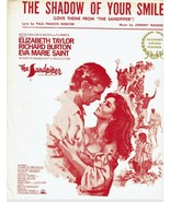 Sheet Music The Shadow of Your Smile Love Theme Sandpiper Johnny Mandel - $14.36