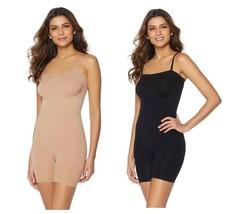 Rhonda Shear Smooth Mid-Thigh Bodysuit (HSN 495084) - $27.99