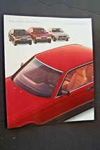 1987 Mercedes 560sl 560sec Owners sales brochure Color Chart w107 w126 w124 sl - $44.54