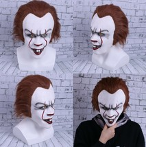Stephen King's It Mask Pennywise Clown Mask Halloween Cosplay Costume Pr... - $16.63