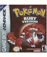 Pokemon: Ruby Version (Nintendo Game Boy Advance, 2003) - $15.99