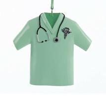 KURT S ADLER RESIN NURSE'S MEDICAL SCRUB W/STETHOSCOPE & CADUCEUS XMAS O... - $8.88