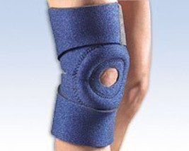 Fla 37-307UNNVY Safe-T-Sport Ez-On Knee Wrap, Navy - $34.75