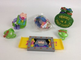 Teenage Mutant Ninja Turtles 5pc Lot Burger King Toys TMNT Retro Vintage 1990s - $24.90
