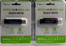 DIGIPOWER New Universal 42-in-1 Multi Card Reader/ Writer Factory Sealed - $14.25
