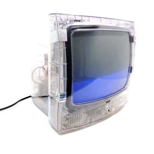 "RCA Secureview 13"" Clear See Through Color TV Prison Inmate Television Coax Inp - $139.68"