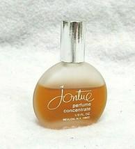 REVLON JONTUE ~ Perfume Concentrate 1/2 FL Oz Frosted Bottle ~ Splash 75... - $20.32